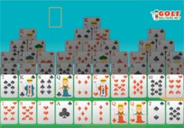 Golf Castle Solitaire