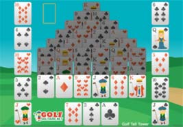 yahoo games golf solitaire